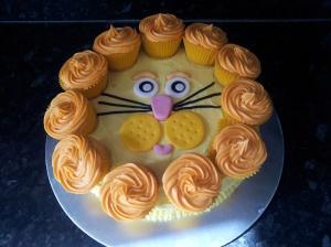 Lion Cake Photo